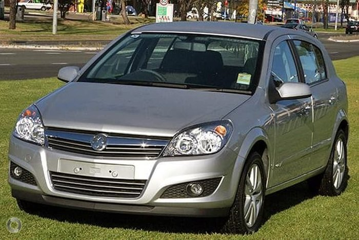 2008 Holden Astra CDTI AH MY08.5 Silver