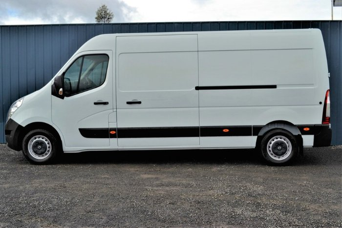 2019 Renault Master MID ROOF LONG WHEELB X62 MINERAL WHITE LWB