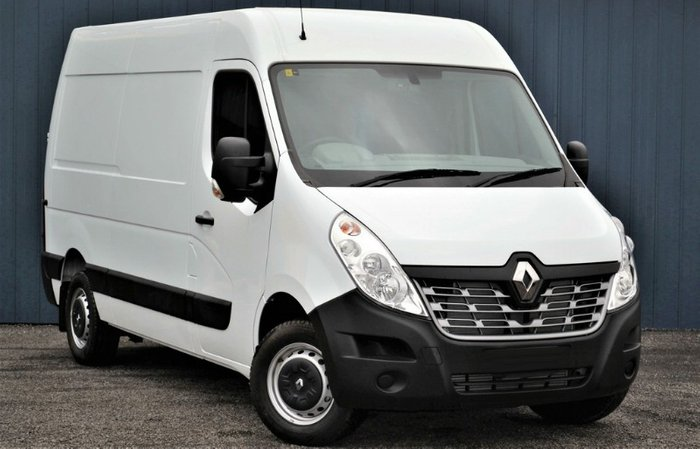 2019 Renault Master MID ROOF MEDIUM WHEE X62 MINERAL WHITE