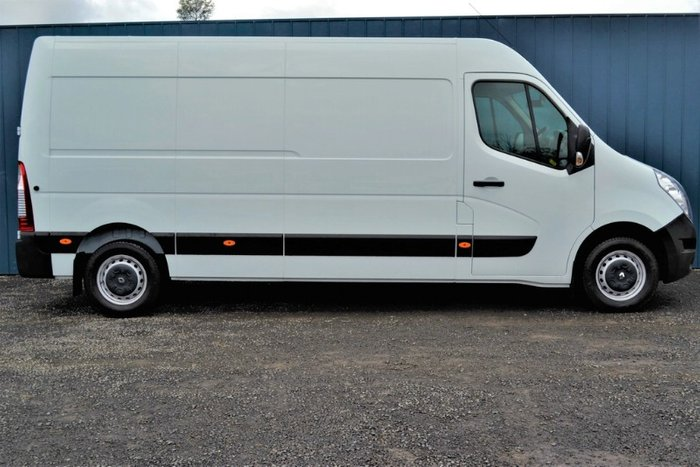 2018 Renault Master MID ROOF LONG WHEELB X62 MINERAL WHITE LWB