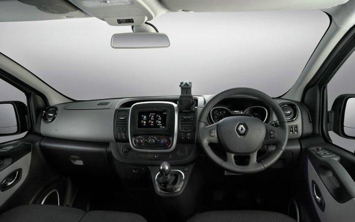 2018 Renault Trafic 85kW X82 SAT NAV GLACIER WHITE SWB