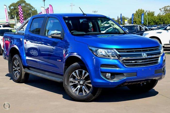 2019 Holden Colorado LTZ RG MY20 4X4 Dual Range Blue