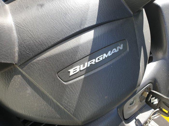 2005 SUZUKI BURGMAN 650 (AN650) null null White