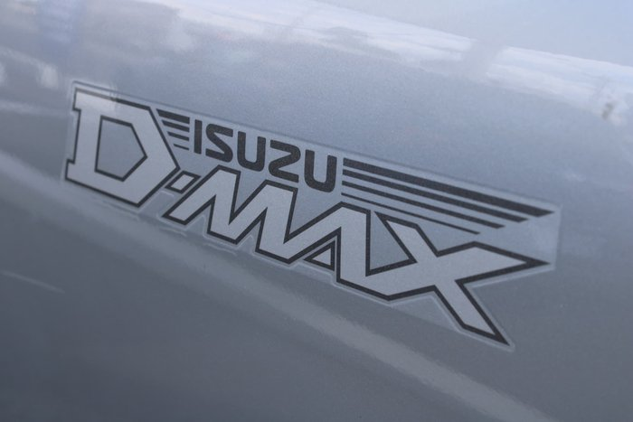 2012 Isuzu D-MAX LS High Ride MY11 Silver