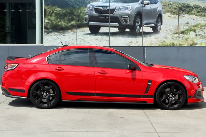 2015 Holden Special Vehicles Clubsport R8 GEN-F MY15 Red