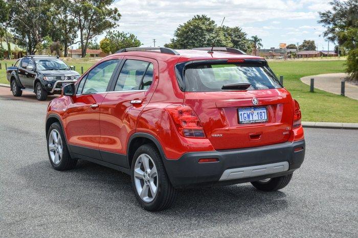 2016 Holden Trax LTZ TJ MY16 Red