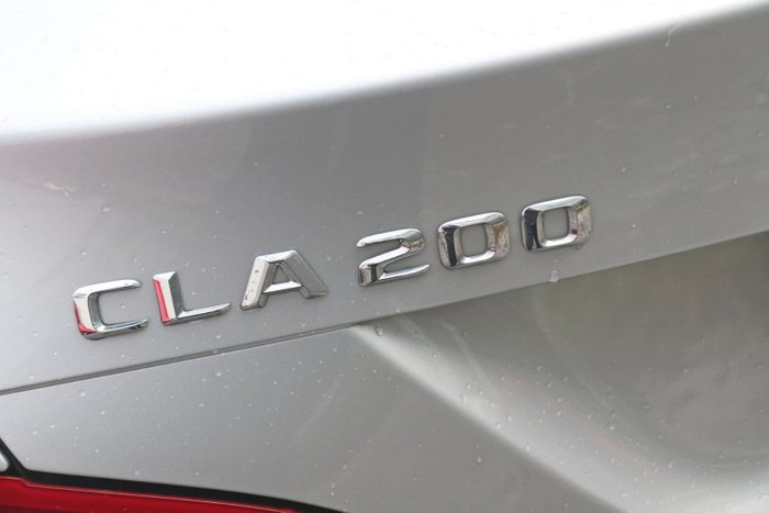 2014 Mercedes-Benz CLA-Class CLA200 C117 Silver