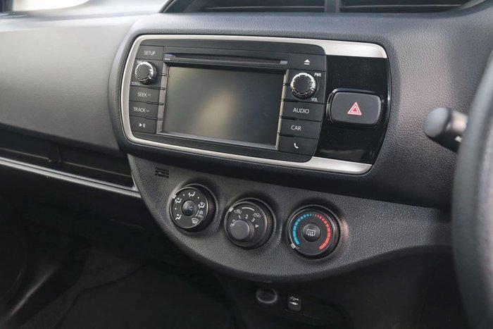 2016 Toyota Yaris Ascent NCP130R Black