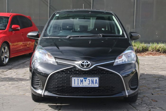 2016 Toyota Yaris Ascent NCP130R Black