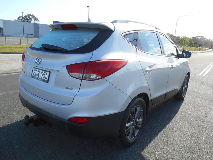 2014 Hyundai ix35 Elite Series II 4X4 On Demand Silver