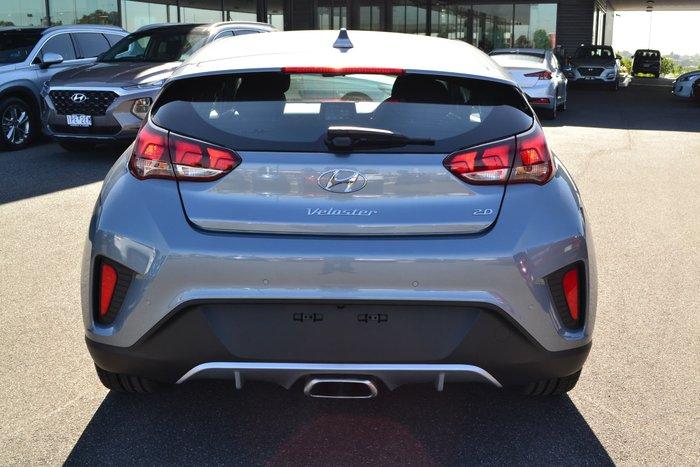 2019 Hyundai Veloster JS MY20 Silver