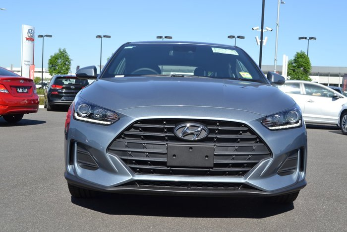 2019 Hyundai Veloster JS MY20 Silver