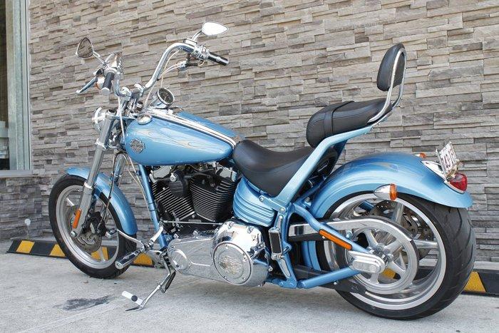 2011 Harley-davidson FXCWC ROCKER C BLUE