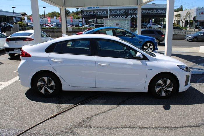 2018 Hyundai IONIQ hybrid Elite AE.2 MY19 White