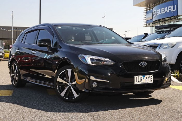 2017 Subaru Impreza 2.0i-S G5 MY18 Four Wheel Drive Black