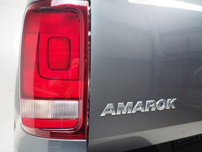 2018 Volkswagen Amarok TDI550 Dark Label 2H MY18 4X4 Constant Grey