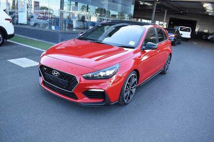 2019 Hyundai i30 N Performance PDe.3 MY20 Red