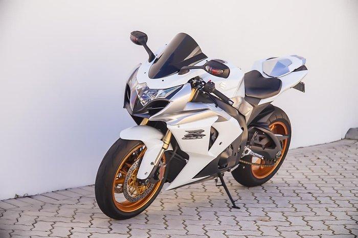 2009 SUZUKI GSX-R1000 null null White
