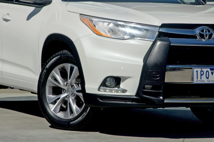 2015 Toyota Kluger GXL GSU55R Four Wheel Drive White