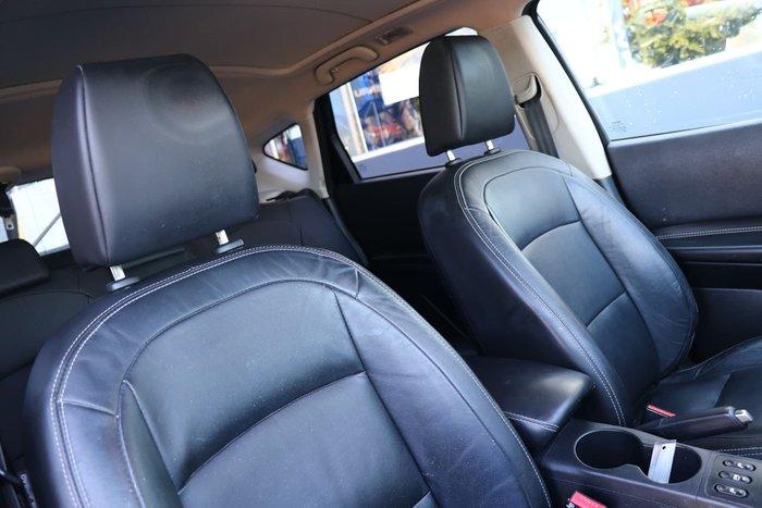 2012 Nissan Dualis Ti-L J10 Series 3 MY12 4X4 On Demand Red