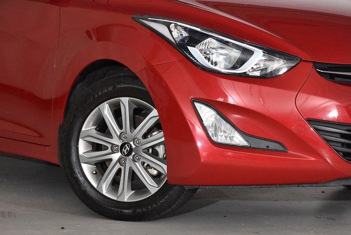 2014 Hyundai Elantra Trophy MD3 Red