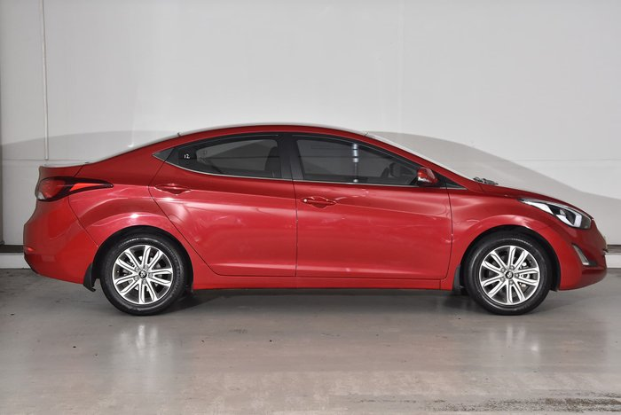 2014 Hyundai Elantra Trophy MD3 Red