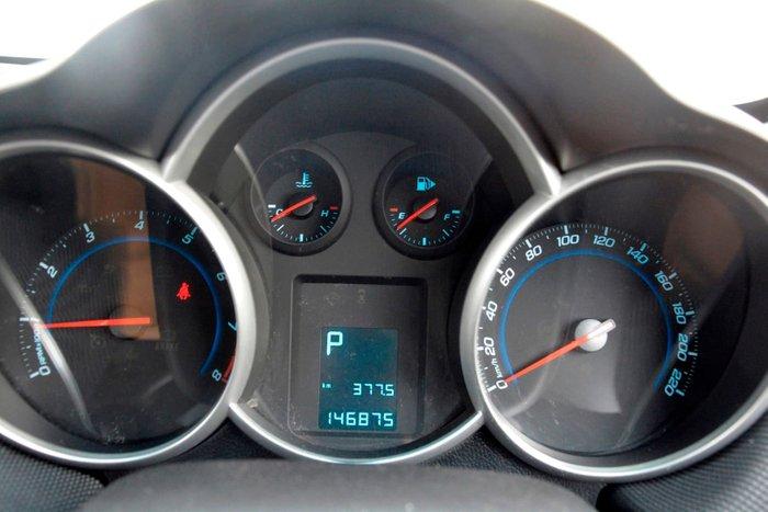 2012 Holden Cruze CD JH Series II MY12 White