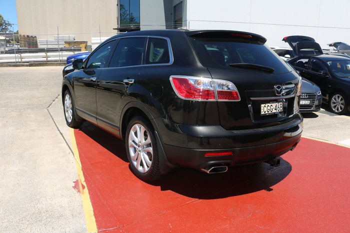 2012 Mazda CX-9 Grand Touring TB Series 4 MY12 Four Wheel Drive Black