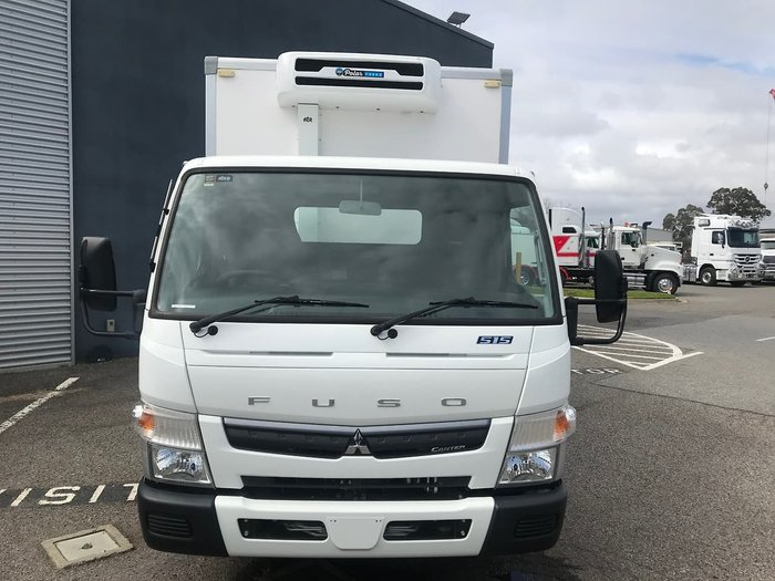 2019 FUSO CANTER 515 WIDE CAB REFRIGERATED White