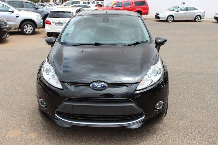 2012 Ford Fiesta Metal WS Black