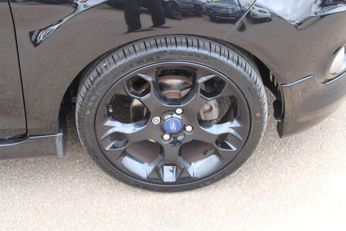 2012 Ford Fiesta Metal WS Black