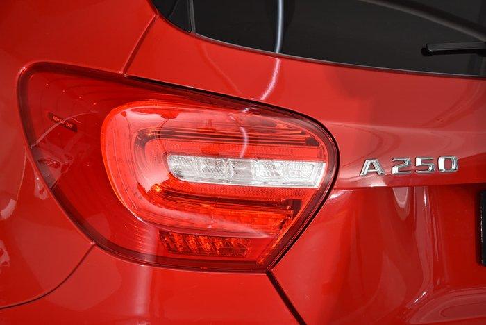 2015 Mercedes-Benz A-Class A250 Sport W176 Red