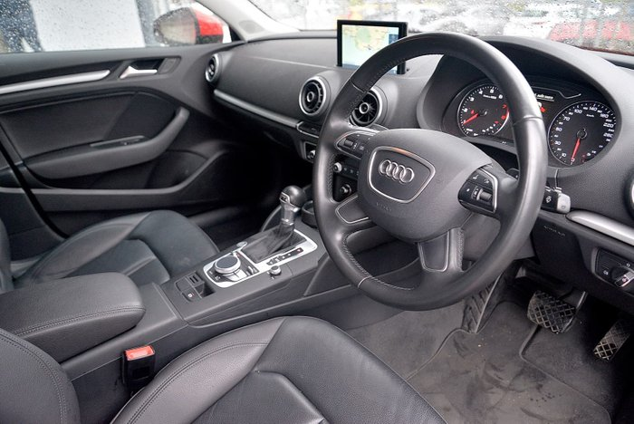 2015 Audi A3 Attraction 8V MY15 Red