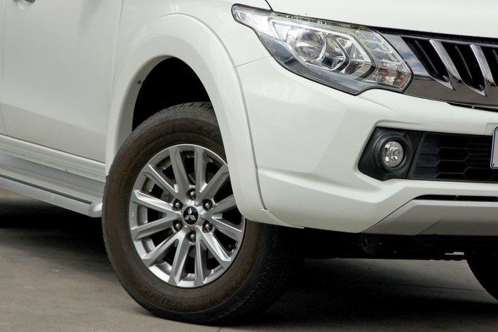 2016 Mitsubishi Triton GLS MQ MY17 4X4 Dual Range White