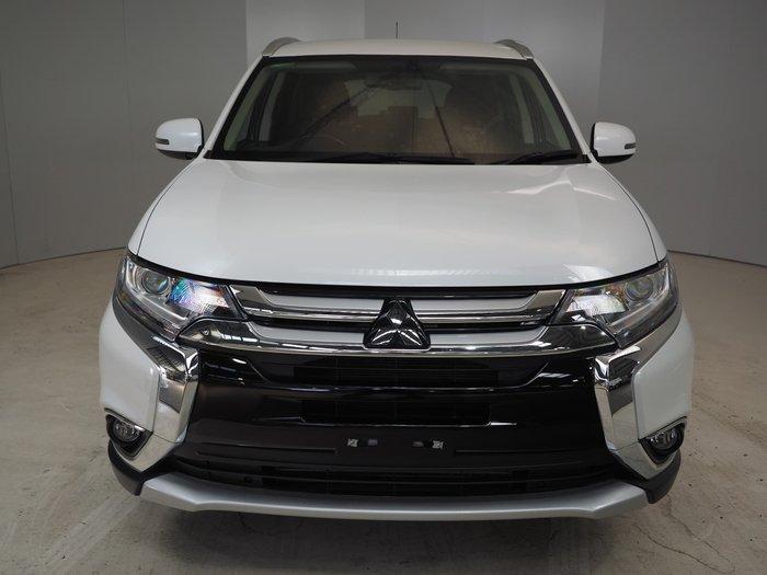 2016 Mitsubishi Outlander XLS ZK MY16 4X4 On Demand White