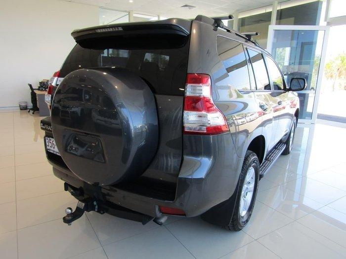 2014 Toyota Landcruiser Prado GXL KDJ150R MY14 4X4 Dual Range Magnetic Gray