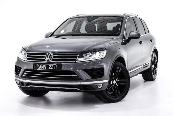 2016 Volkswagen Touareg Wolfsburg Edition 7P MY17 Four Wheel Drive Grey