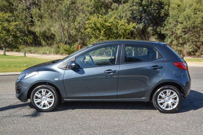 2011 Mazda 2 Neo DE Series 1 MY11 Grey