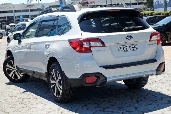 2018 Subaru Outback 2.5i 5GEN MY19 Four Wheel Drive White
