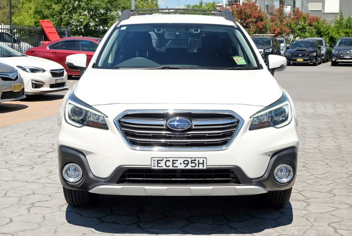 2018 Subaru Outback 2.5i 5GEN MY19 Four Wheel Drive White
