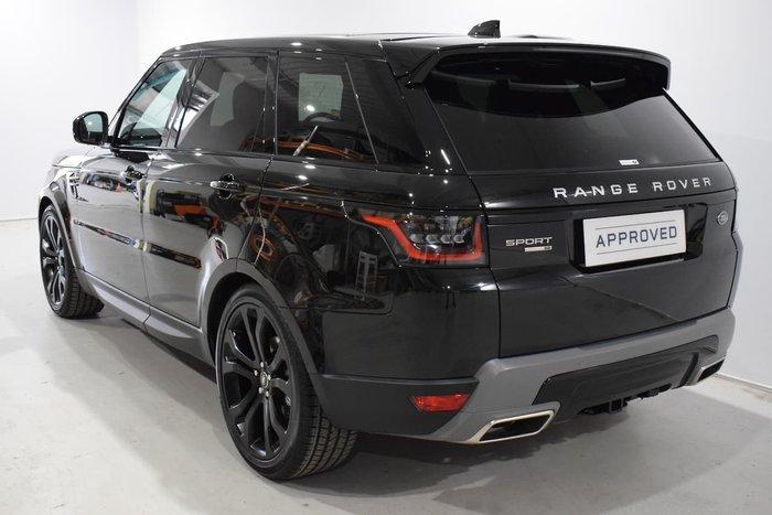2019 Land Rover Range Rover Sport SDV6 183kW SE L494 MY20 4X4 Constant Black