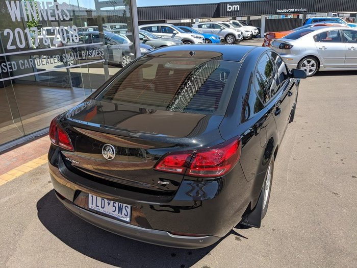 2017 Holden Commodore Evoke VF Series II MY17 Black