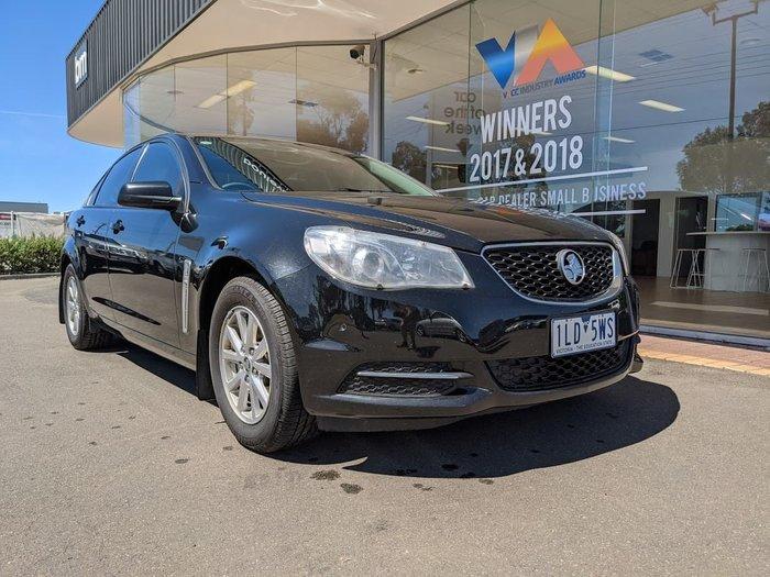 2017 Holden Commodore Evoke VF Series II MY17 Black