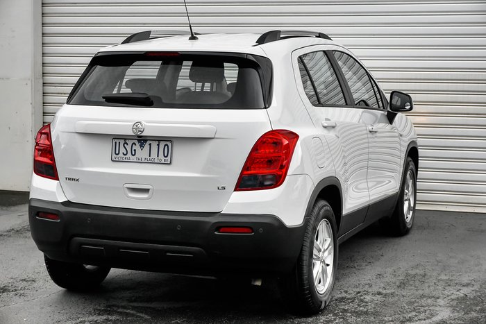 2013 Holden Trax LS TJ MY14 White