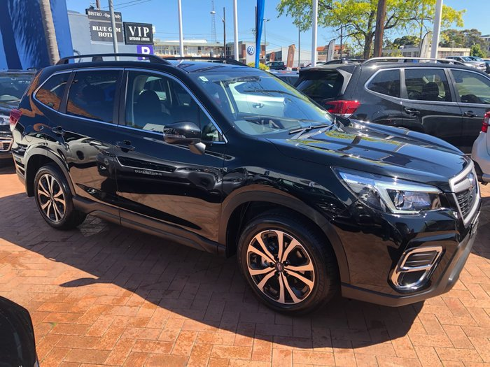 2018 Subaru Forester 2.5i Premium S5 MY19 Four Wheel Drive Black