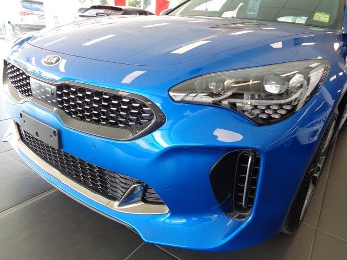2019 Kia Stinger GT Carbon Edition CK MY20 Blue