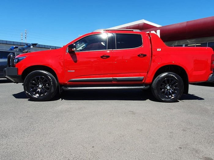 2018 Holden Colorado Z71 RG MY18 4X4 Dual Range Red