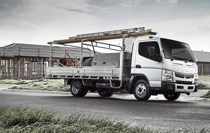 2019 FUSO CANTER 515 AUTO SUMOCAB ALLOY TRAY INCREDIBLY FROM $170P/W** null null White