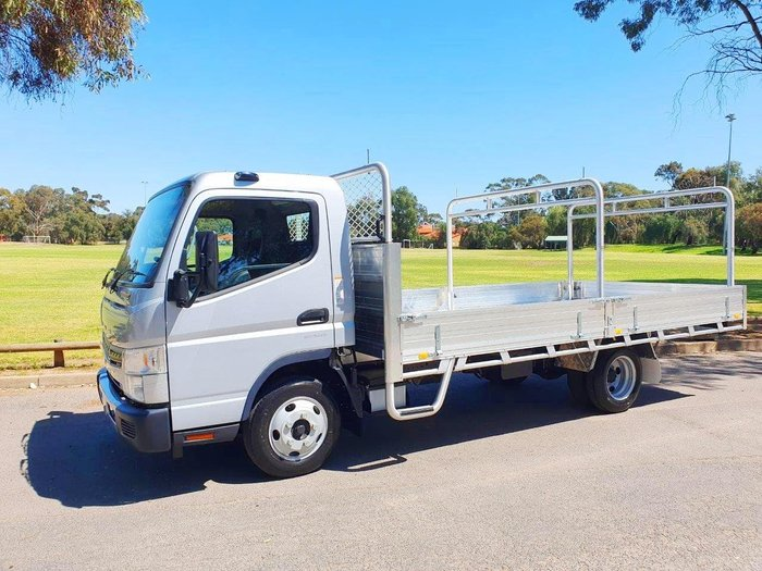 2019 FUSO CANTER 515 AMT TRAY 2 YEAR FREE SERVICING 19 PLATED TRUCKS* null null SILVER