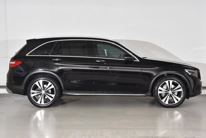 2016 Mercedes-Benz GLC-Class GLC250 X253 Four Wheel Drive Black